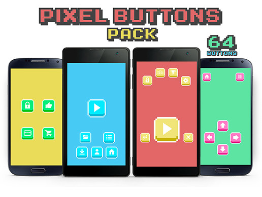 Pixel Buttons Pack