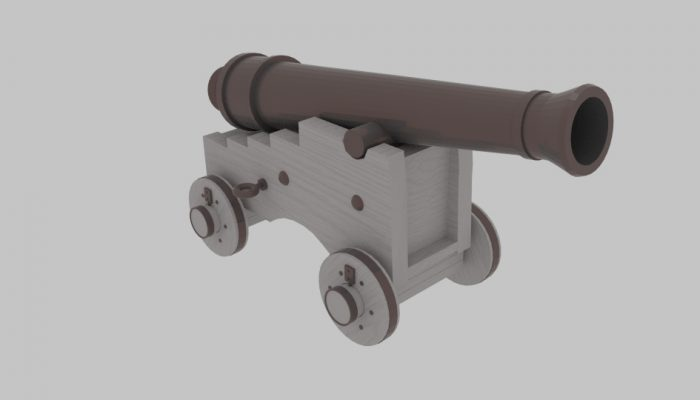 Pirate Cannon