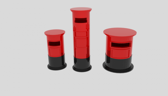 Cylinder Post Box Pack