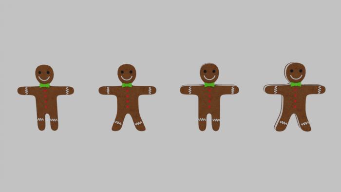 Gingerbread Cookie Pack