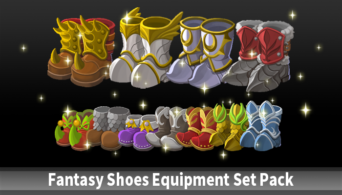 Fantasy Shoes Equipment Set Pack