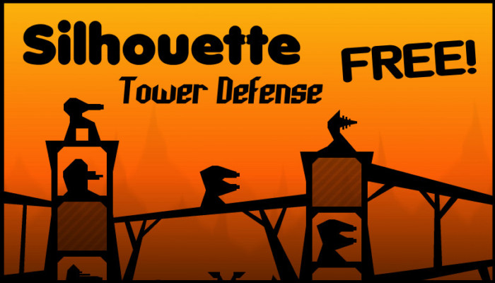 Silhouette Tower Defense (Free Side View Game Asset)