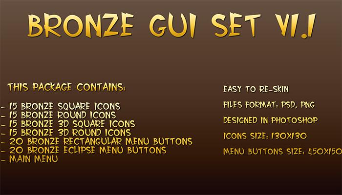 Bronze GUI Pack V1.1
