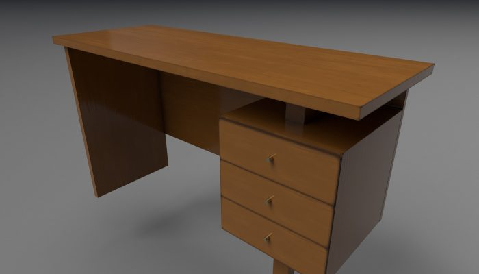3D Table/Writing Desk