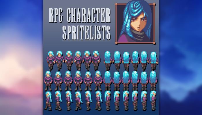 RPG Character Spritelists