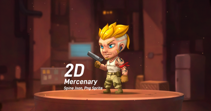 Chibi Mercenary (Spine)
