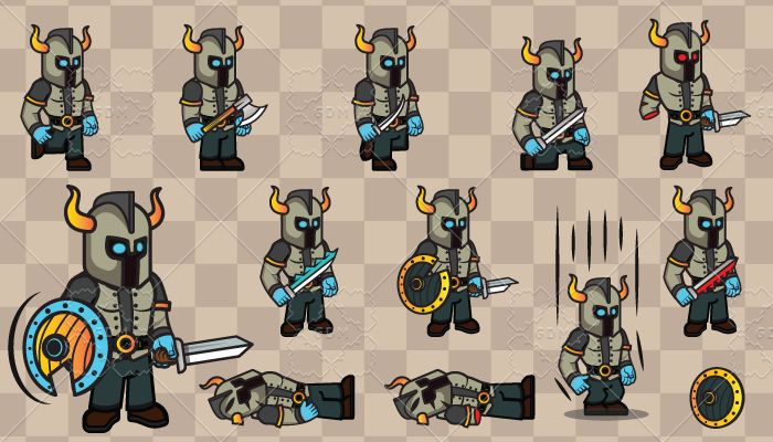 2D Game Character 6