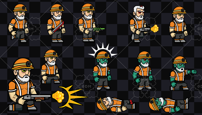 2D Game Character 7