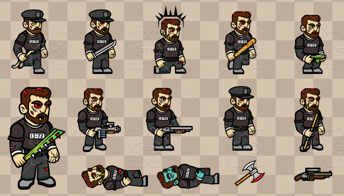 2D Game Character 5