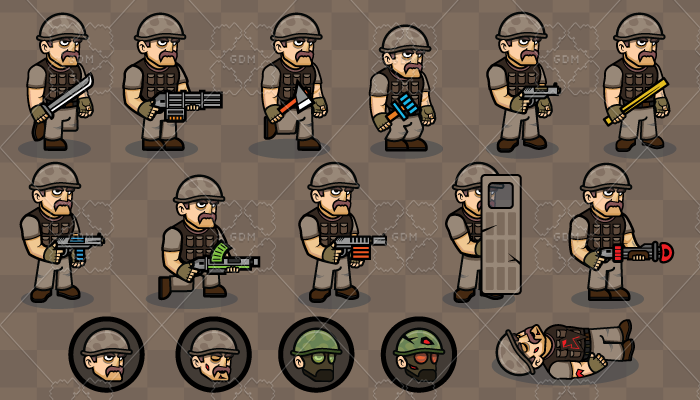 2D Game Character 1