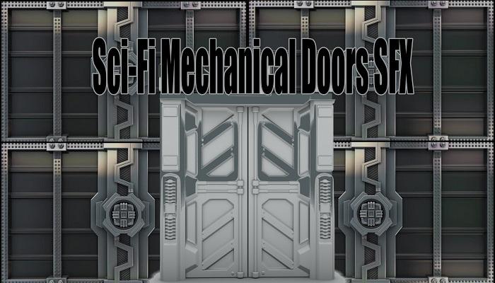 Sci-Fi Mechanical Doors SFX