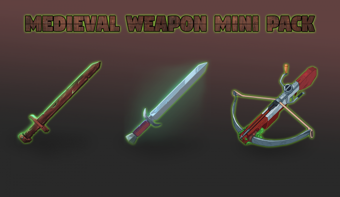 Medieval Weapon Icons Mini Pack