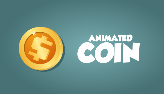 Animated coin