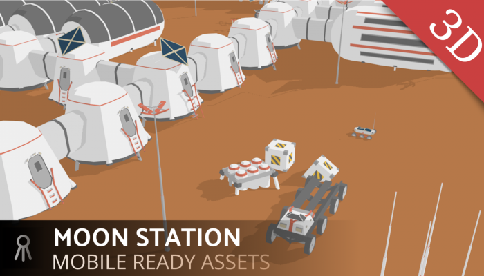 Martian station