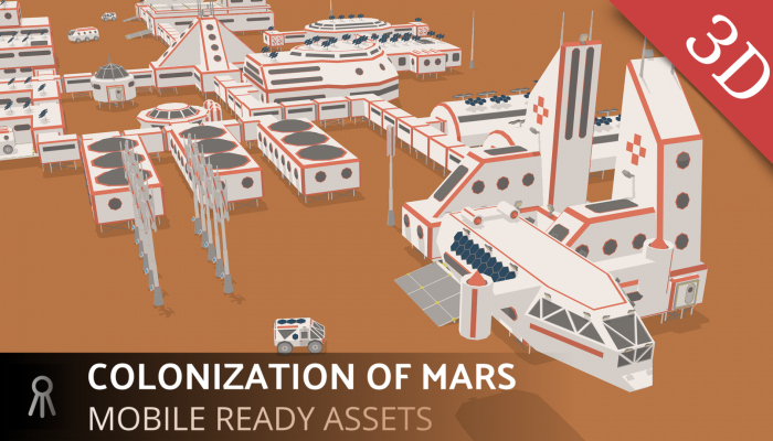 Mars colonization stage