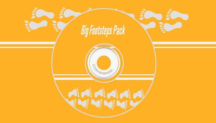 Big Footsteps Pack
