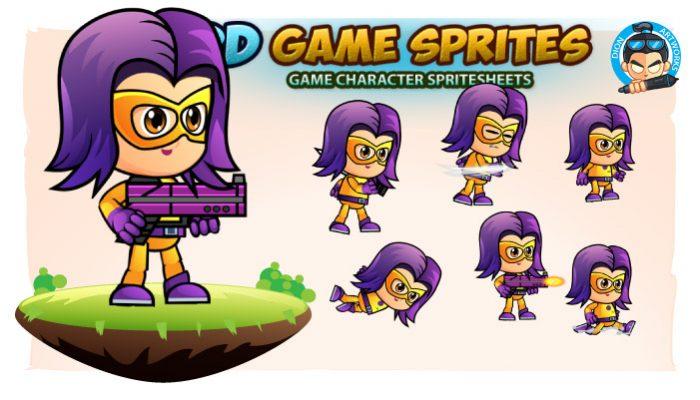 SuperJade 2D Game Sprites