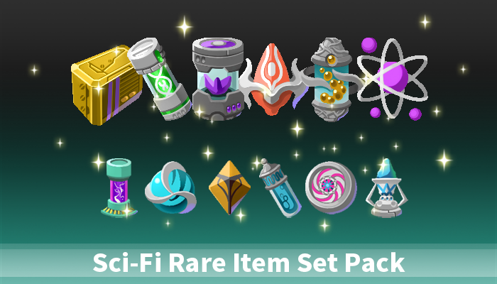 Sci-Fi Rare Item Set Pack