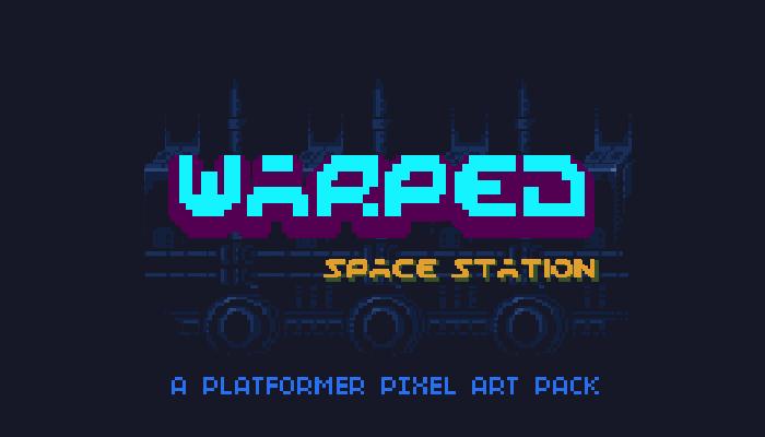 Warped Space Station