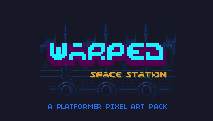 Warped Space Station