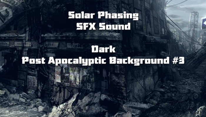Dark Post Apocalyptic Background #3