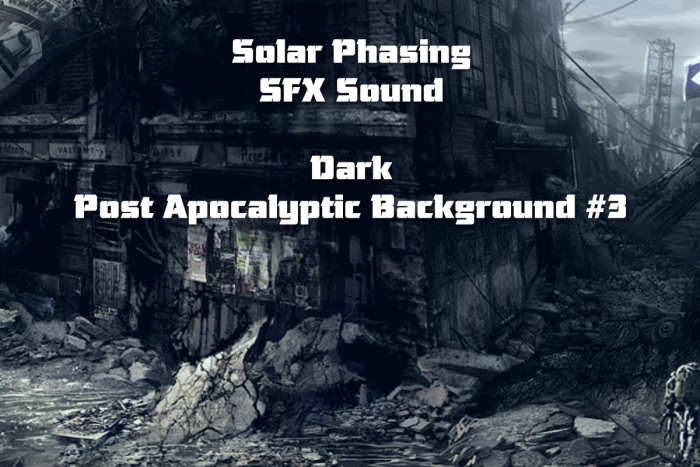 Dark Post Apocalyptic Background #3