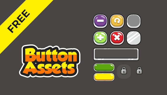 GUI assets – Buttons
