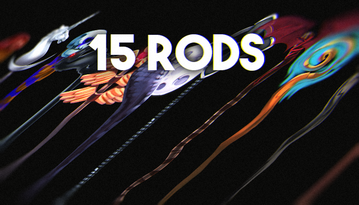 Fantasy Wands/Rods 15 Pack