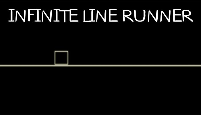 Infinite 2d line runner – avoid triangle obstacles – ready for release Unity3D game