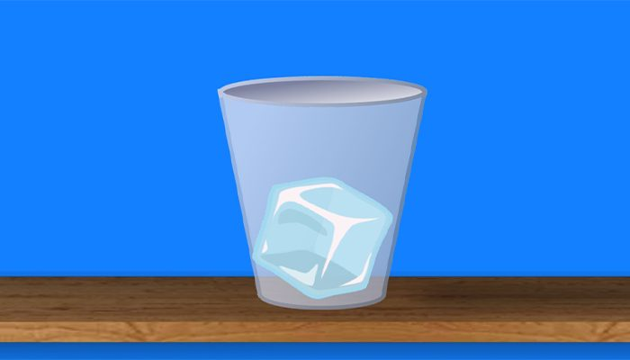Ice Cube Jump – one tap endless hyper casual game – jump from one glass to another