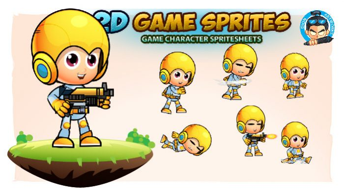 Ethan 2D Game Sprites