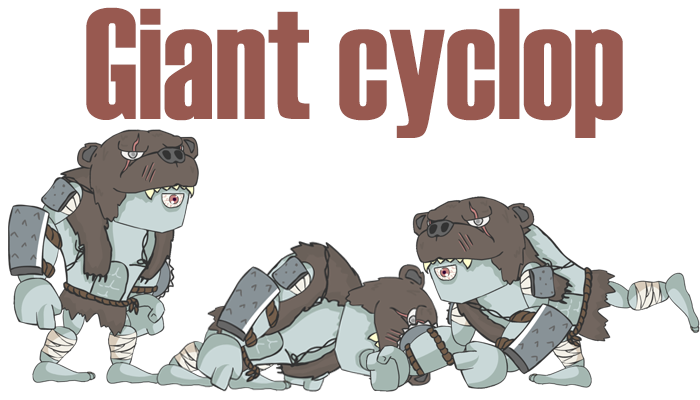 Giant cyclop