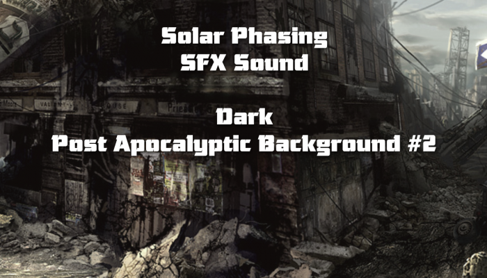 Dark Post Apocalyptic Background #2