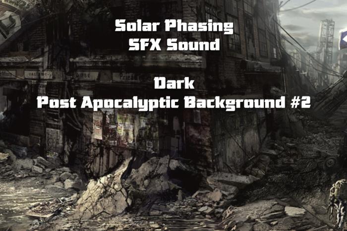 Dark Post Apocalyptic Background #2