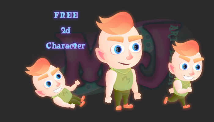 FREE 2D Game Character 5