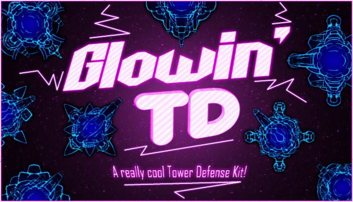 Glowin TD (Tower Defense Asset with Cross-Compatible Items)