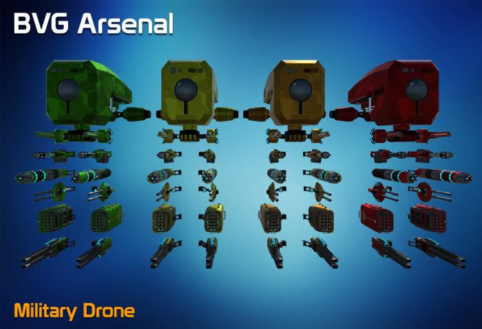 Military Drone – HQ