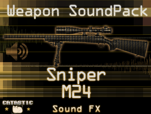Weapon Sound Pack – Sniper: M24