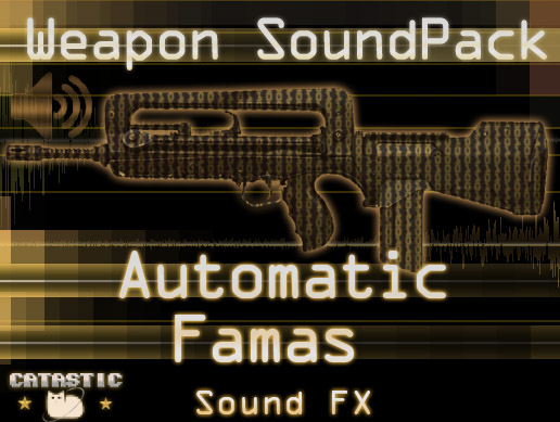 Weapon Sound Pack – Automatic Rifle: Famas