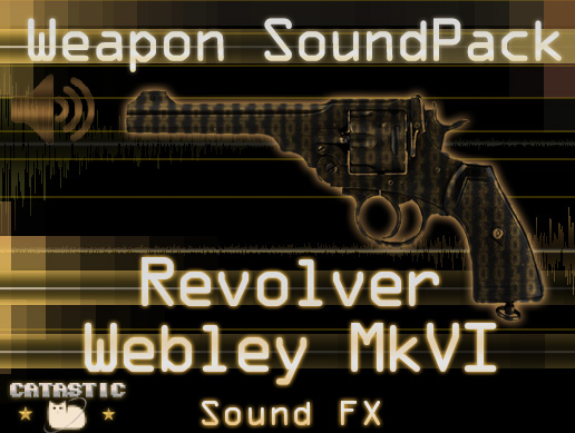 Weapon Sound Pack – Revolver: Webley Mk VI