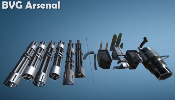 Modular reaper minigun