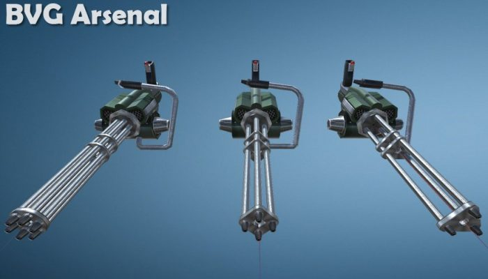 Minigun pack – HQ