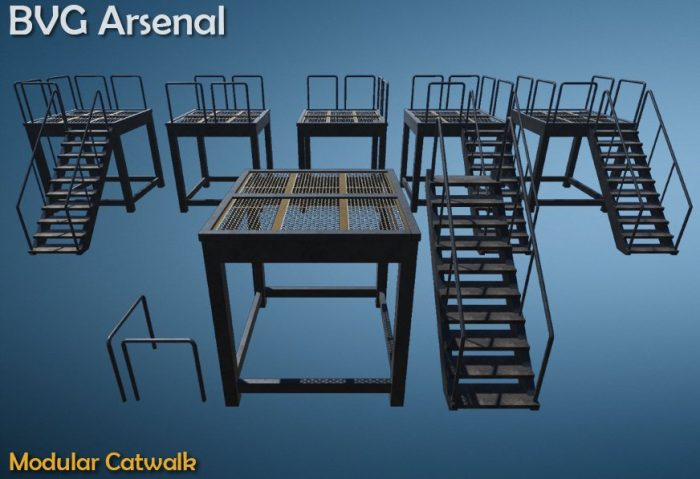 Modular catwalk – HQ