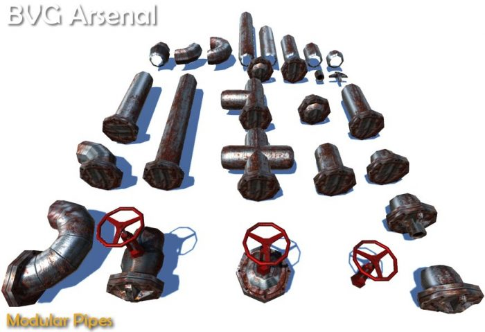 Modular pipes – HQ