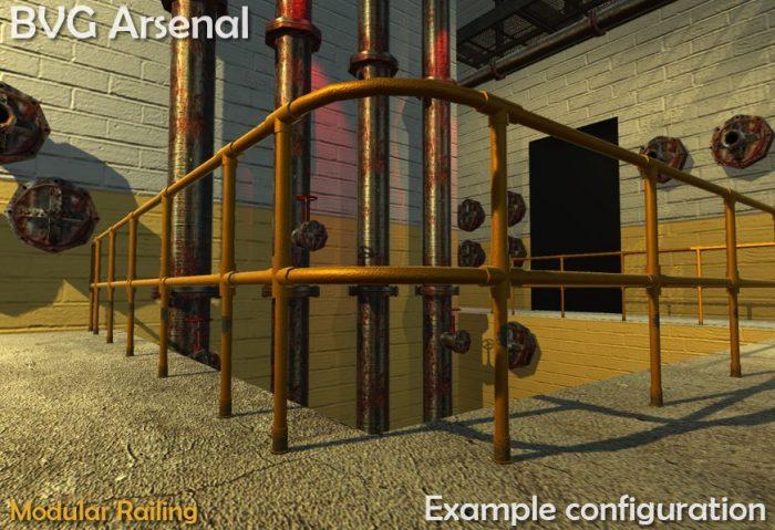 Modular railing – HQ