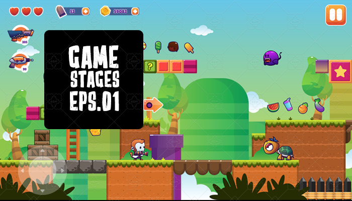 Platformer Game Stages 1