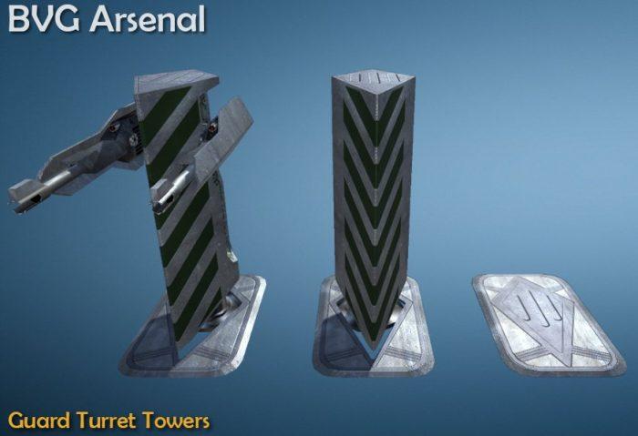 Guard turret tower – HQ