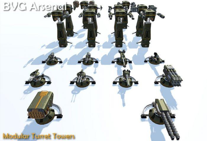 Modular turret tower – HQ