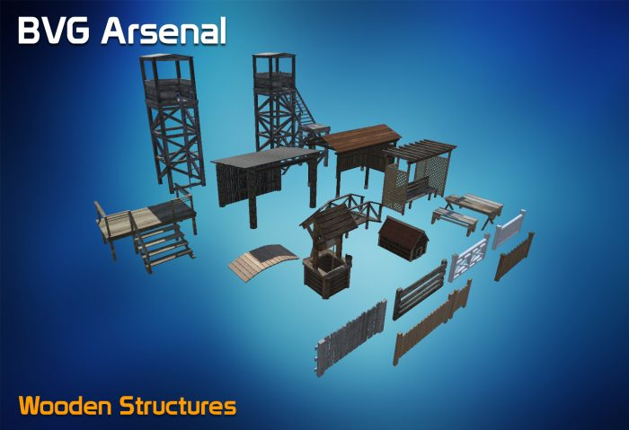 Wooden Structure collection