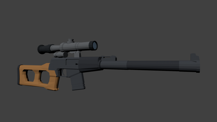 Low Poly VSS